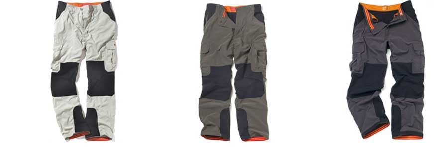 Bear Grylls Survivor Trousers colours